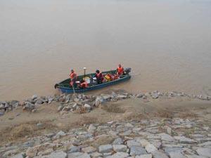 黄河淄博段根石汛前探测提前完成