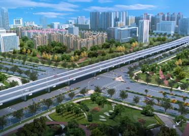 潍坊首条高架快速路预计明年