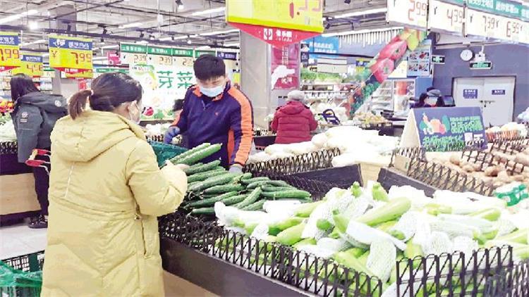 便宜菜多起来 潍坊市民备感轻松