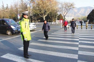 潍坊城区机动车礼让率 上月达到90.9%