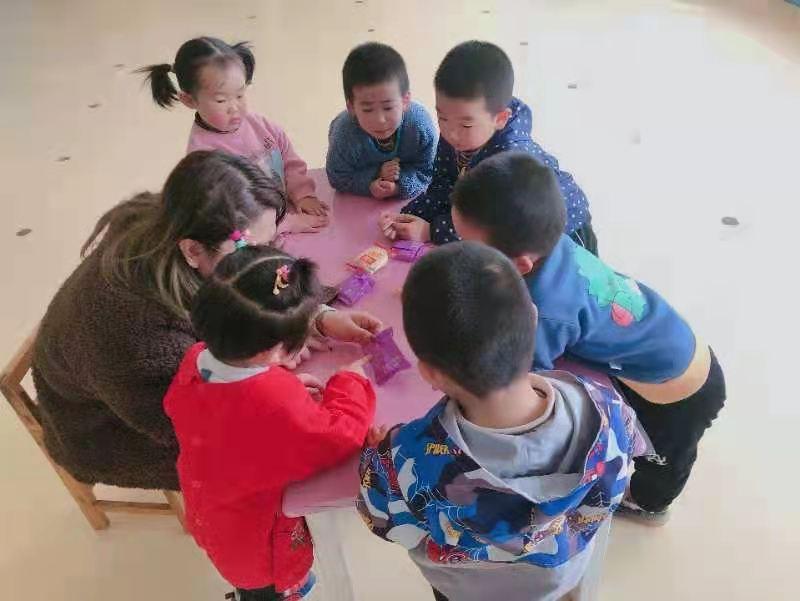 """利津县陈庄镇付窝幼儿园 """"3·15国际消费者权益日""""活动"""
