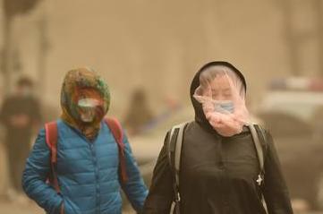东营沙尘天气来袭,这份健康防护提示请收好~