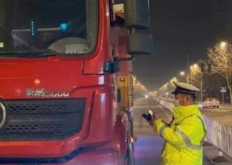 淄博高新区持续开展移动污染源整治行动 半个月查处超载大货车65辆