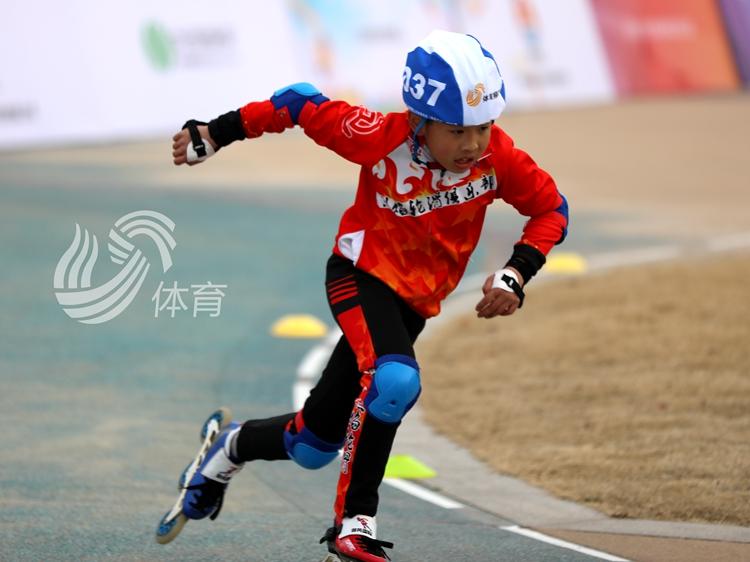 2021年中國速度輪滑公開賽日照賽區選撥賽活力上演