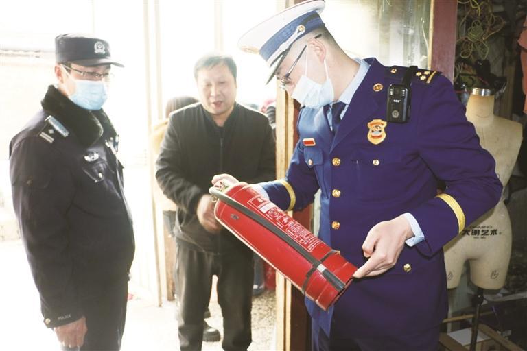 淄川开展治安、消防安全清查 7家单位立案处罚