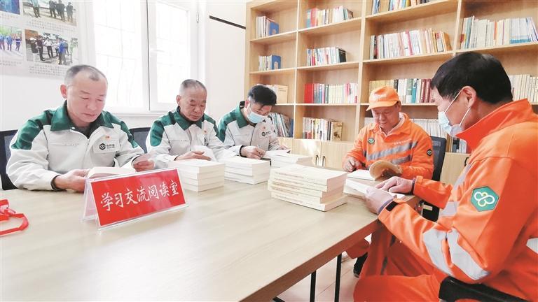 淄博高新区首家党史学习驿站落户