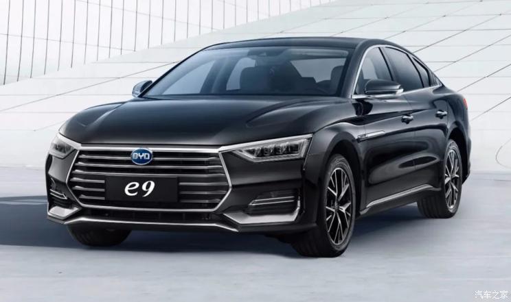 补贴后22.98万元 比亚迪e9纯电专车上市