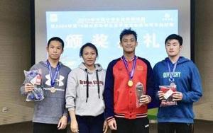 中国中学生游泳锦标赛淄博队收获1金1银
