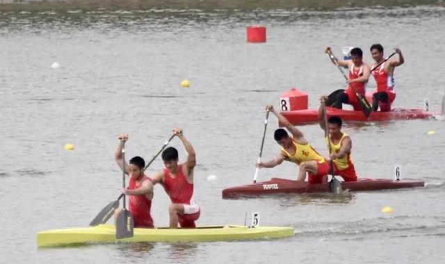 全国皮划艇春冠赛山东运动员斩获6金