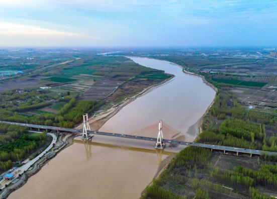 黄河两岸 生机盎然