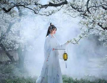 阳信:梨花带雨迎客来