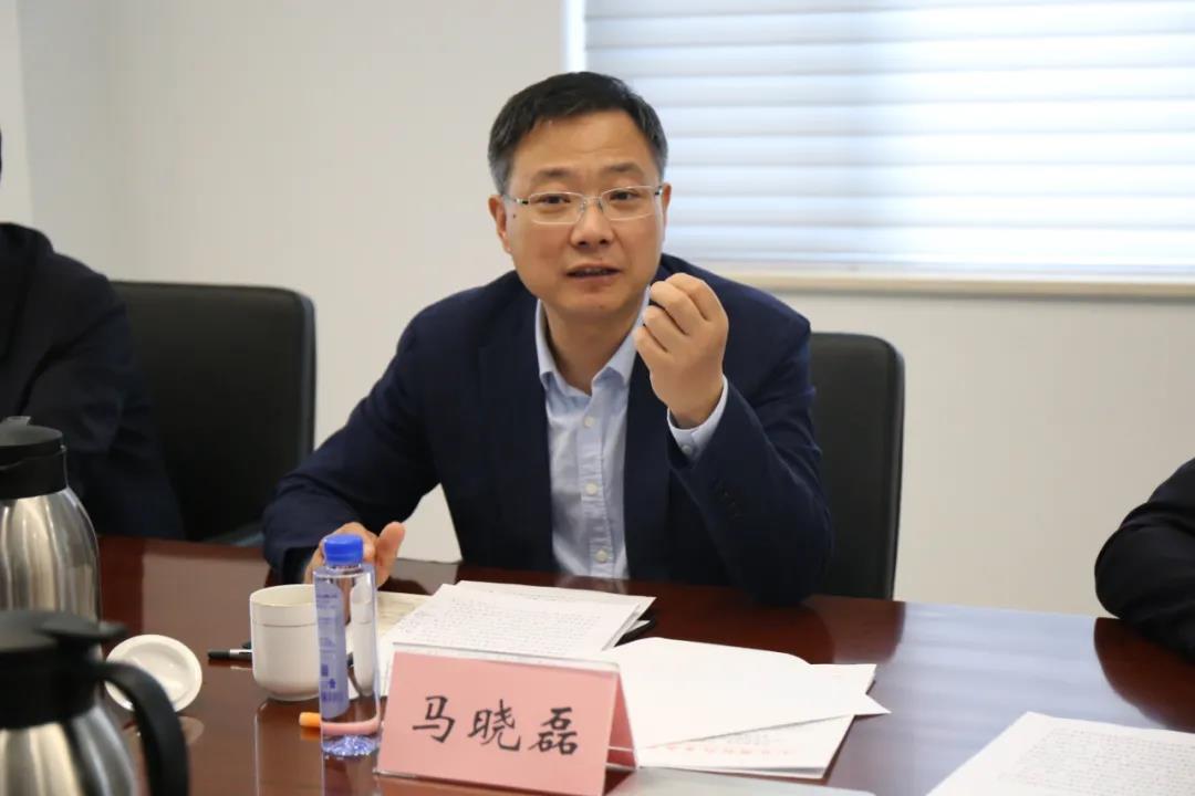 马晓磊到周村区调研工作