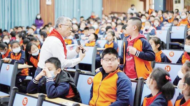6位中科院科学家在淄博播撒科学梦之种