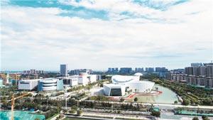 """""""一部七产"""" 淄博新区赋能中心城区产业发展"""