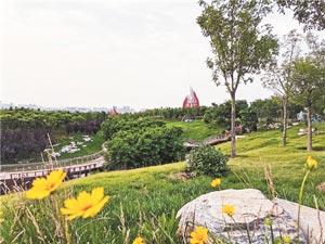 独具淄博特色魅力的公园城市大格局正加速构建成形
