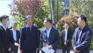 马晓磊专题调研督导省生态环境督察交办问题整改工作