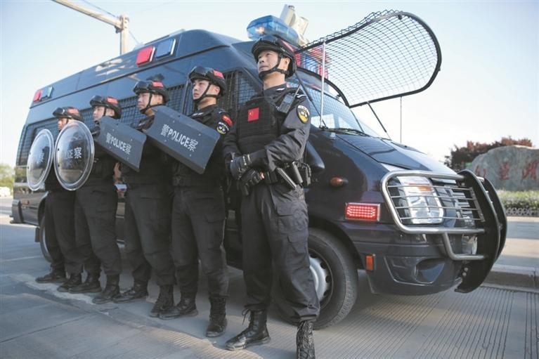 """淄博公安""""五一""""期间全警在岗在位 每日2100余名警力24小时护城"""