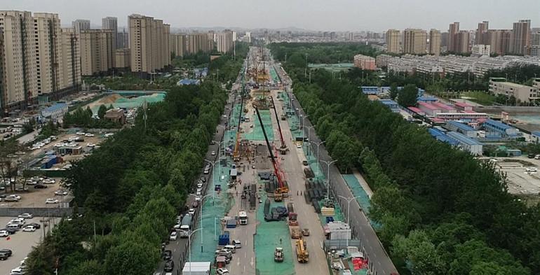 潍坊宝通街快速路工程全面进入高效饱和施工阶段
