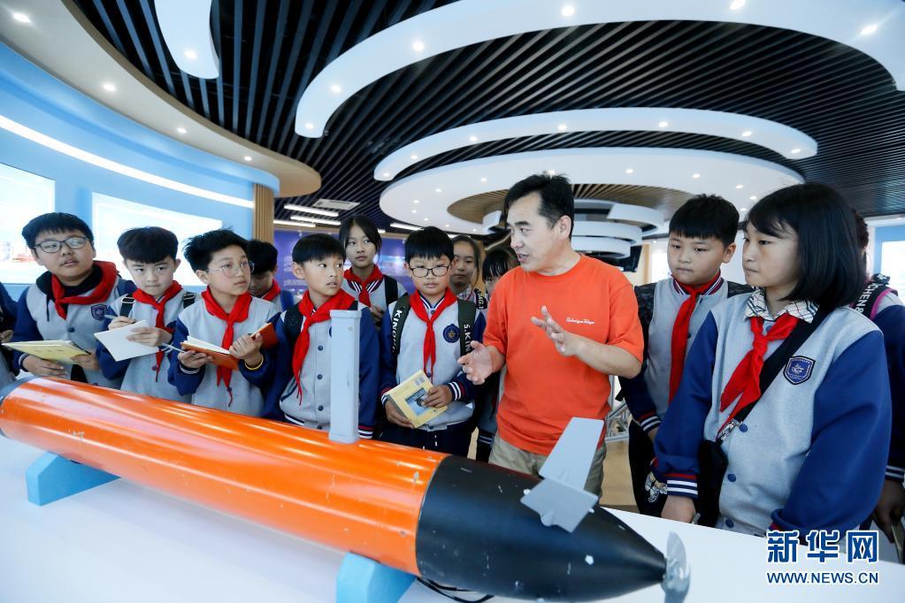 感受海洋文化 培养科技兴趣