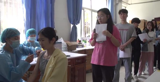 聊城东昌府区:优化接种环境 有序做好新冠疫苗接种工作