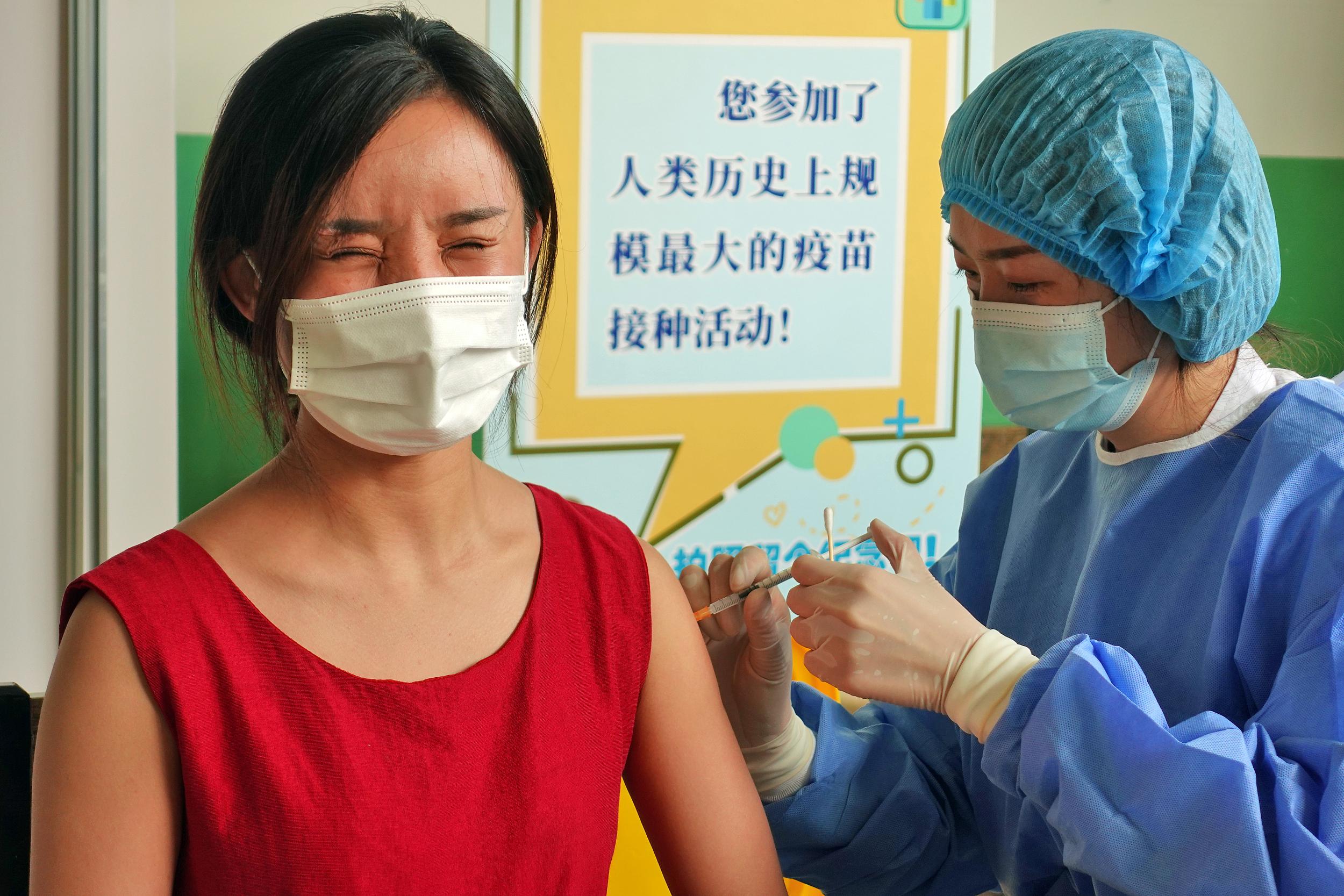 全国新冠疫苗接种剂次超14亿!山东突破1亿剂次
