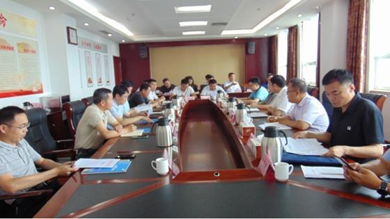 25屆省運會市場開發部召開五蓮縣企業負責人座談會