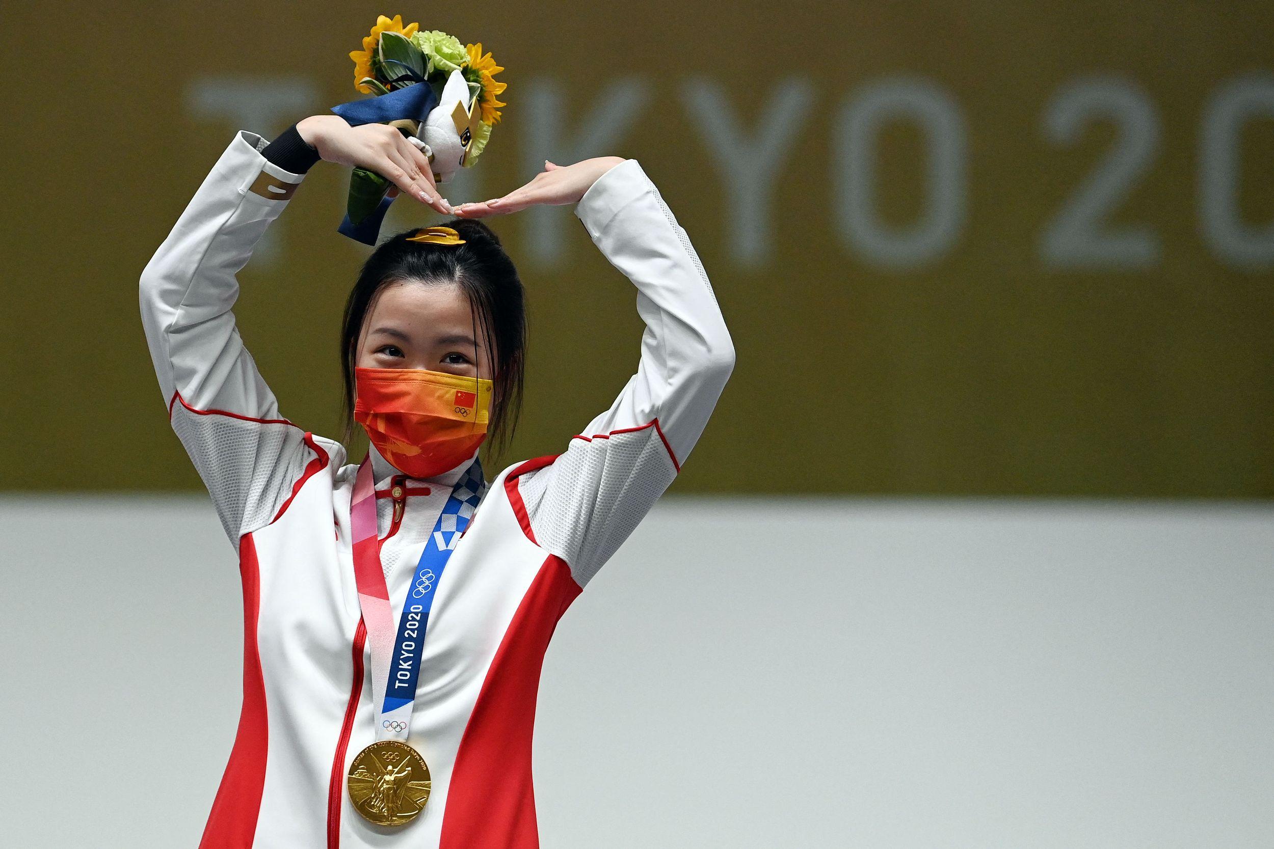 这是中国奥运历史上最年轻的首金