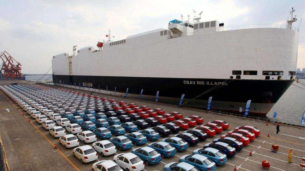 8月我国汽车出口18.7万辆 继续保持高速增长