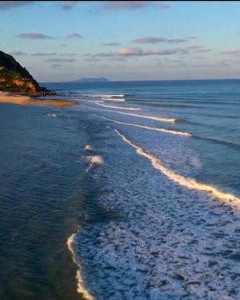 詩畫山東|一海碧水分兩界 黃渤海交匯處海上奇觀