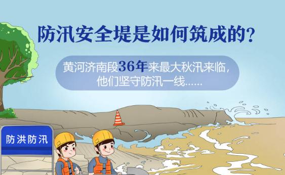 政能量 | 黄河济南段36年来最大秋汛来临,如何筑牢防汛安全堤?