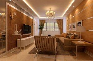 济南实创装饰-【中海国际社区】130米三室简欧风格设计