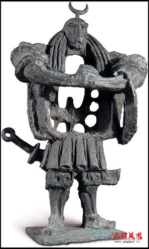 浙江阳光高考_曾成钢雕塑作品欣赏_书画鉴赏_艺术鉴赏频道__齐鲁网
