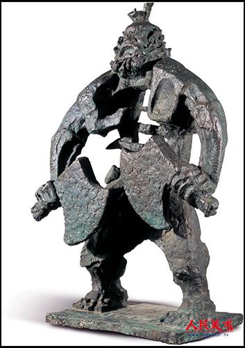 曾成钢雕塑作品欣赏