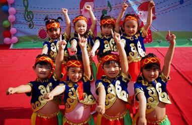 舞蹈——蒙古舞组合