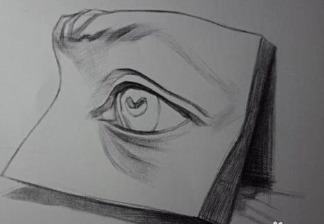 成人零基础学人物素描:眼睛的画法(三)