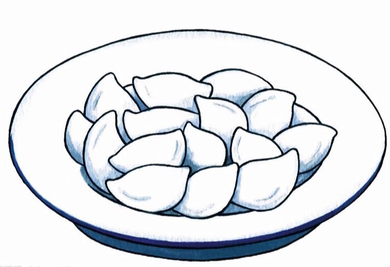 冬至包饺子亲子活动