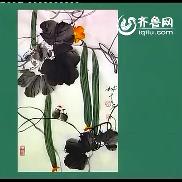 藤类花卉:丝瓜、牵牛花的画法