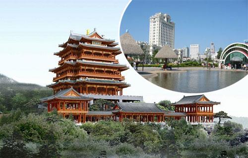 威海:登上环翠楼 尽览城市好风光