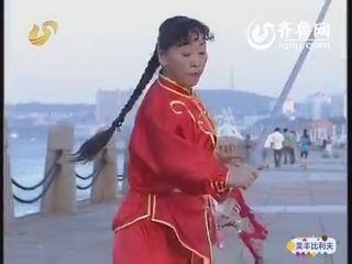 姊妹花练习螳螂拳:真功夫!