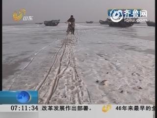 """""""不冻港""""上冻 水产养殖受影响"""