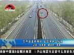 山东淄博:车停高速酿事故 监控探头全记录