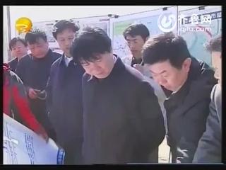 崔洪刚调度德大铁路滨州火车站建设工作