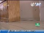 滨州:委屈:家中被水泡 睡在柜子上