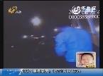 青岛:豪车相撞 肇事司机逃跑
