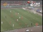 2013中超联赛山东鲁能V申花上半场