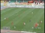 中超联赛第30轮山东鲁能5-1贵州人和上半场比赛实况