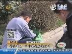 济南:民间牛人练硬气功 斧头镰刀都是表演工具