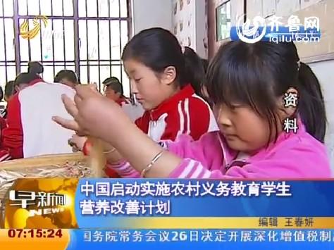 实施农村义务教育学生营养改善计划自查报告