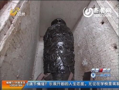 巨型陶瓷九龙瓶 15日上午出炉