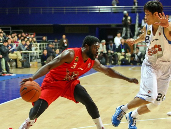 2012-2013CBA第3轮:山东黄金VS上海玛吉斯(第一节)